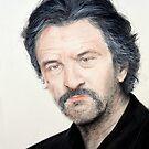 Portrait of Actor Robert De Niro in Jackie Brown by jimfitz