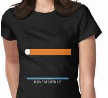 Station Montmorency Womens Fitted T-Shirt