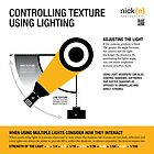 Controlling texture using lighting. by Nick Griffin