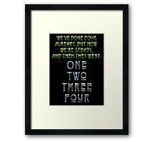 THE OCEAN Framed Print