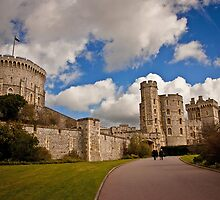 Windsor Castle Walkway by Rebecca Caspers