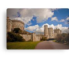Windsor Castle Walkway Metal Print