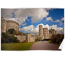 Windsor Castle Walkway Poster
