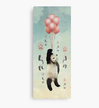 Pandaloons v2 Metal Print
