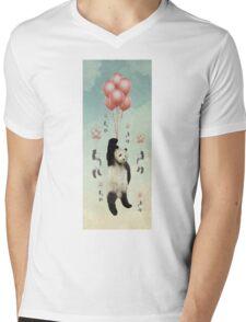 Pandaloons v2 Mens V-Neck T-Shirt