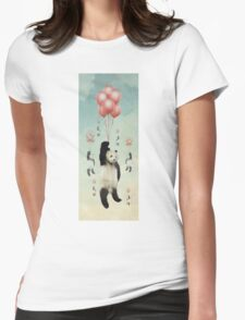Pandaloons v2 Womens Fitted T-Shirt