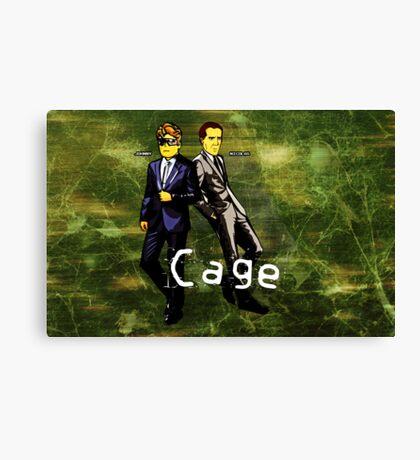 Cage (Print Version) Canvas Print