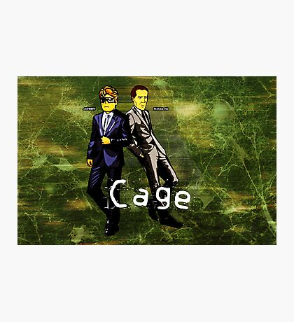 Cage (Print Version) Photographic Print