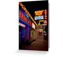 Vegas Bridal Greeting Card