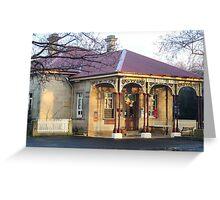 Post Office, Ross, Tasmania Greeting Card
