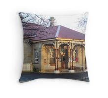 Post Office, Ross, Tasmania Throw Pillow
