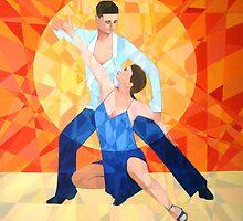 Prismatic Latin Dancers 2013 by Joseph Barbara