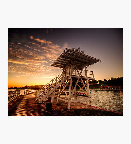 Dive Tower Rise Photographic Print