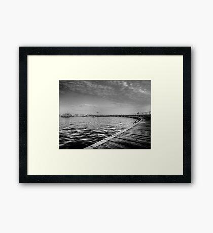 Lovely morning Framed Print