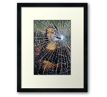 Mona Lisa Shattered Framed Print