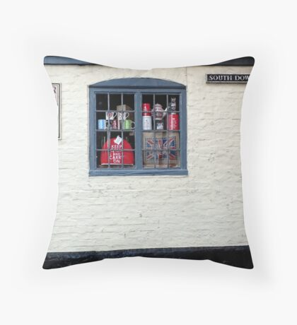 Alfriston, East Sussex Throw Pillow