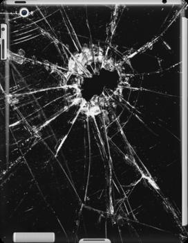 Broken Glass 1 iPad by Brian Carson