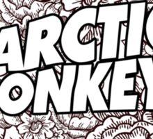 Arctic Monkeys Floweral pattern cover  Sticker