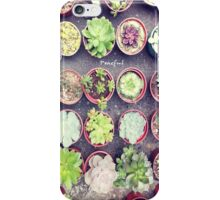 Cactus World iPhone Case/Skin