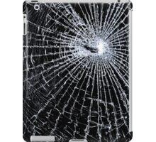 Broken Glass 2 iPad Black iPad Case/Skin