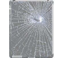 Broken Glass 2 iPad Gray iPad Case/Skin