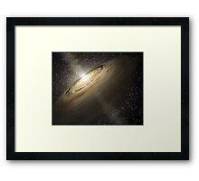 Star System Composite Photo Framed Print