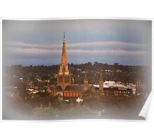 Cathedral View Poster