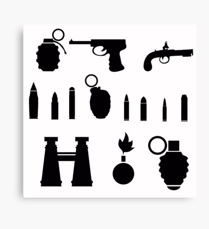 weapon Canvas Print