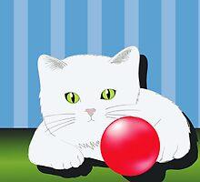 cat  by valeo5