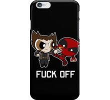 Puff Wolverine & Deadpool- PPA iPhone Case/Skin