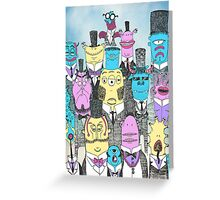 A Few Good Monsters Greeting Card
