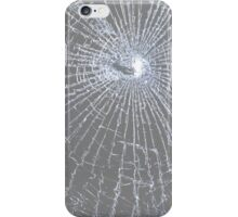 Broken Glass 2 iPhone Gray iPhone Case/Skin