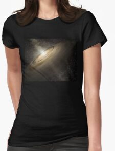 Star System Composite Photo Womens Fitted T-Shirt