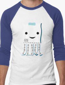 Octopus For Hire Men's Baseball ¾ T-Shirt