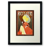 French modernist print Framed Print
