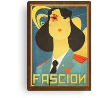 Russian constructivism print Canvas Print