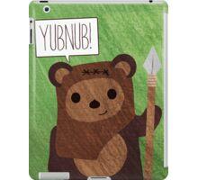 Cute Ewok! YUBNUB!! iPad Case/Skin