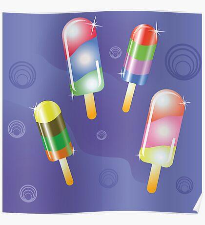 ice cream Poster