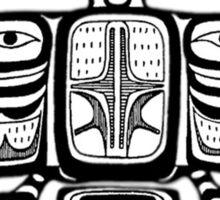 North West Native American Symbol Sticker