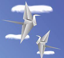 paper birds by valeo5