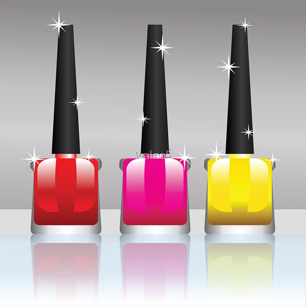 nail polish bottles by valeo5