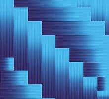 blue metallic background by valeo5