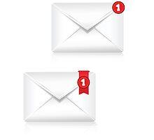 Mailbox Alert Icon by valeo5