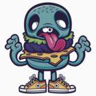 Zombie Burger by cronobreaker