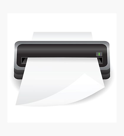 portable scanner Photographic Print