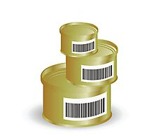 canned food Photographic Print