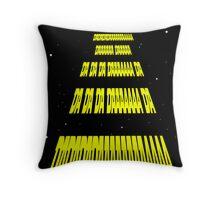 Phonetic Star Wars Throw Pillow