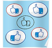 like button Poster