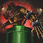 King Bowser by ArrowValley