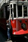 Historic Tram in Istanbul by Jens Helmstedt